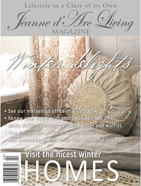 Jeanne d' Arc Living Magazine February 2017