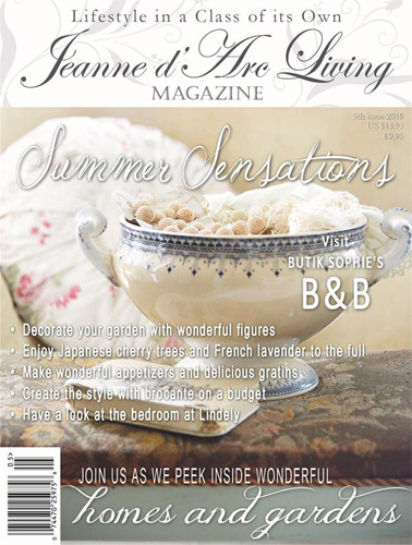 Jeanne d' Arc Living Magazine May Pre-Order