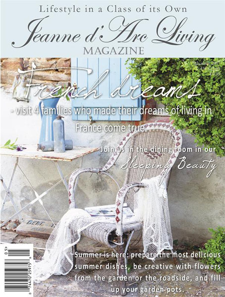 Jeanne d Arc Living Magazine May Issue Pre-Order