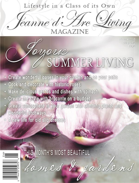 BACK ISSUE Jeanne d Arc Living Magazine JUNE 2016