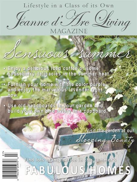 Jeanne d' Arc Living Magazine July 2017 PRE-ORDER