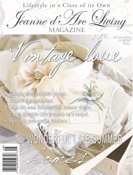 Jeanne d' Arc Living Magazine August Pre-Order