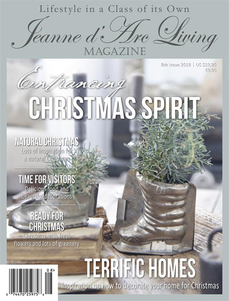 Jeanne d' Arc Living Magazine Christmas 2018 Last Issue Of The Year