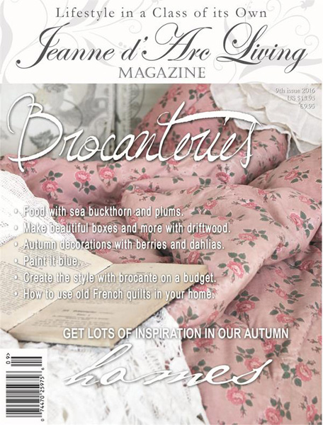 BACK ISSUE Jeanne d' Arc Living Magazine SEPTEMBER 2016