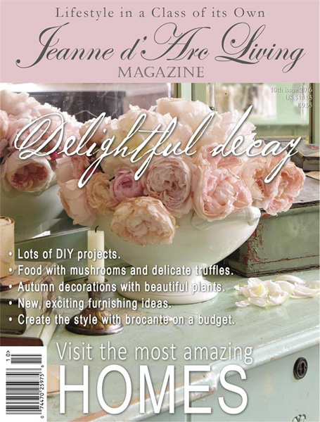 Jeanne d' Arc Living Magazine October 2016 PRE-ORDER