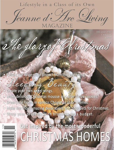 BACK ISSUE Jeanne d Arc Living Magazine NOV 2016