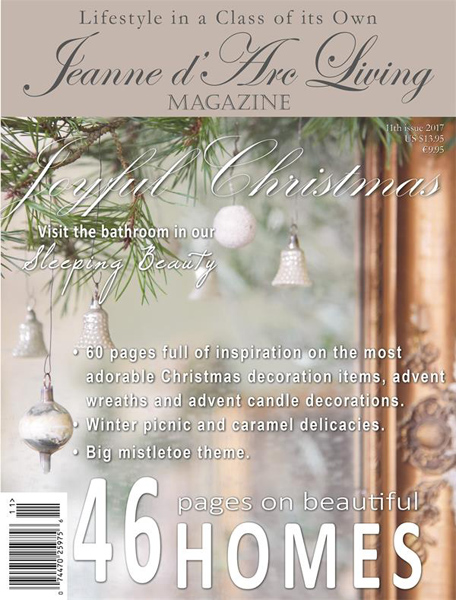 Jeanne d' Arc Living Magazine Nov 2017 Pre-Order