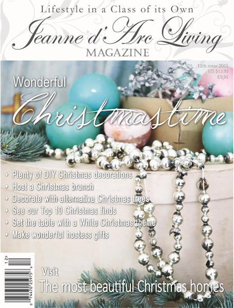 Jeanne d' Arc Living Magazine Christmas Issue