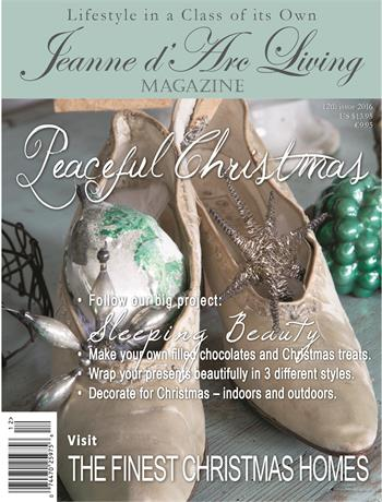 Jeanne d' Arc Living Christmas Issue 2016