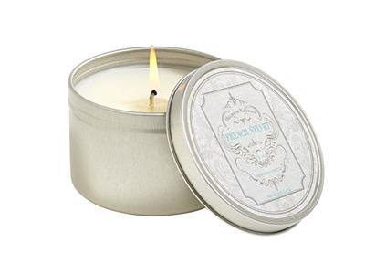 French Velvet Candle Tin