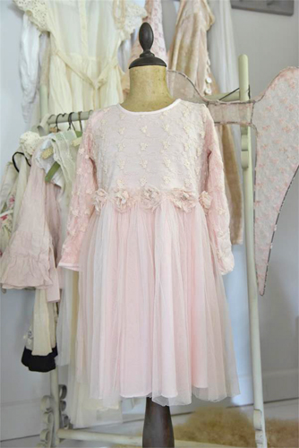 Princess Fairy Dress In Powder Pink