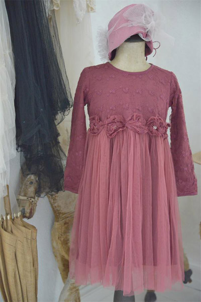 Princess Fairy Dress Vintage Wine