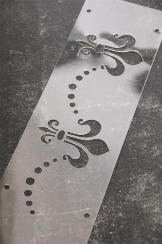 French Fleur de Lis Stencil