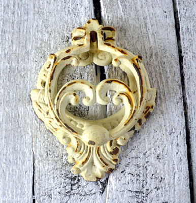 Ornate Antique French Door Knocker