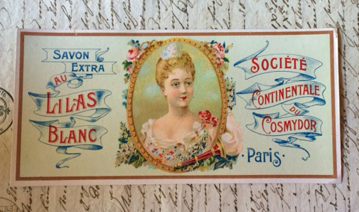 Antique French Label