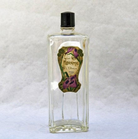 Vintage French Perfume Lotion Bottle