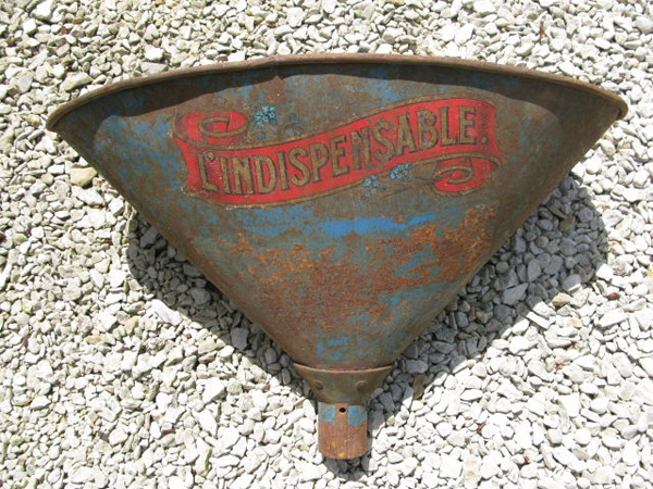 Antique French Farmhouse Funnel