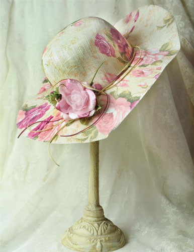 Garden Party Straw Hat