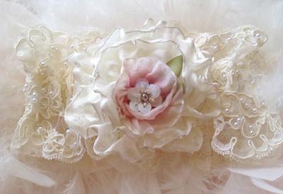 Victorian Wedding Garter