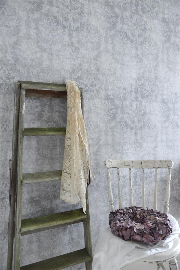Vintage Grey Wallpaper II