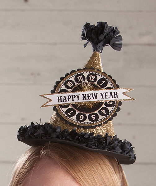 Happy New Year Hat Bethany Lowe