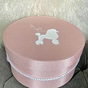 French Pink Hat Box Gift Box