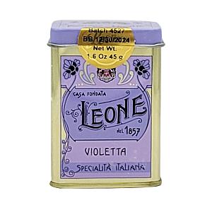 Italian Violet Candy Tin