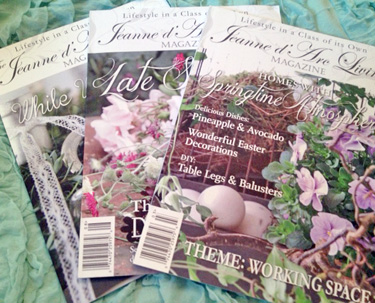 Jeanne d' Arc Living Magazine 6 Month Subscription 2016