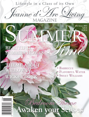 Jeanne d' Arc Living Magazine JUNE 2013 PRE-ORDER