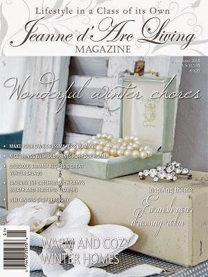 BACK ISSUE of Jeanne d' Arc Living Magazine JAN. 2015