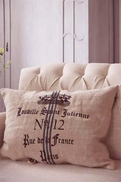 Paris Pillow Slip European Linen Fabric
