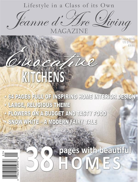 Jeanne d' Arc Living Magazine Issue 1- 2018 Pre-Order