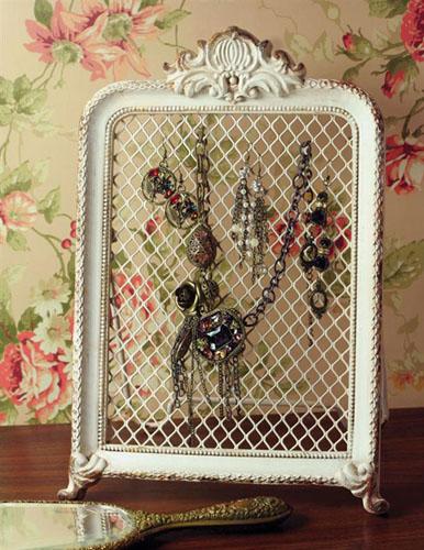 Edwardian Iron Jewelry Stand