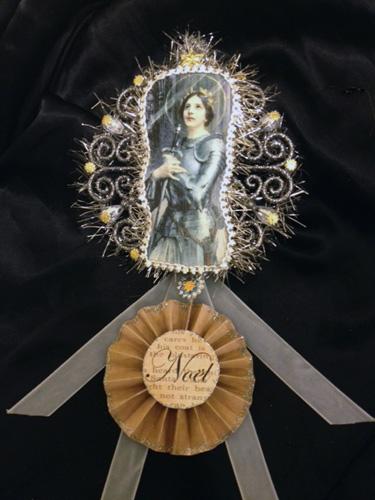 Joan of Arc Noel Ornament