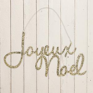 Joyeux Noel Tin Sign