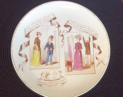 June French Plate