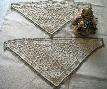 French Antique Crochet Trim