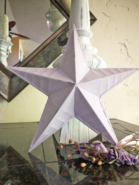 French Lavender Farmhouse Star