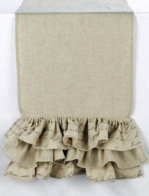 French Ruffle Runner