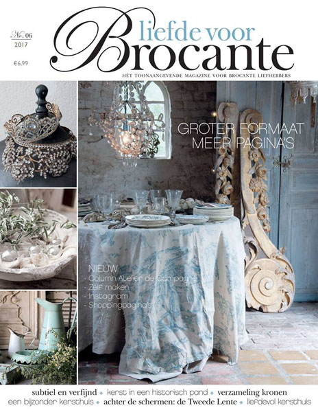 Loving Brocante Magazine Issue 6 2017 Christmas Edition