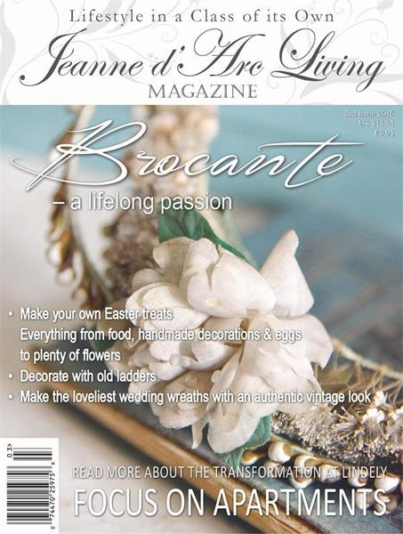 Jeanne d' Arc Living Magazine March Pre-Order