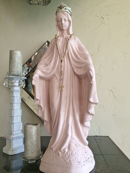 French Nordic Mary Statue