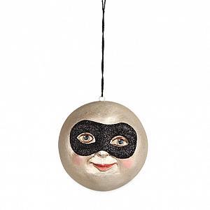 Masked Man In The Moon Ornaments