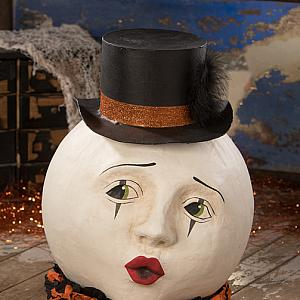 Magic Moon Halloween Decor French Pierrot Style