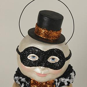 French Pierrot Masquerade Magic Moon Bucket