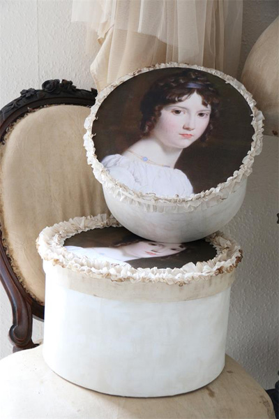 Portrait Hat Box From $55