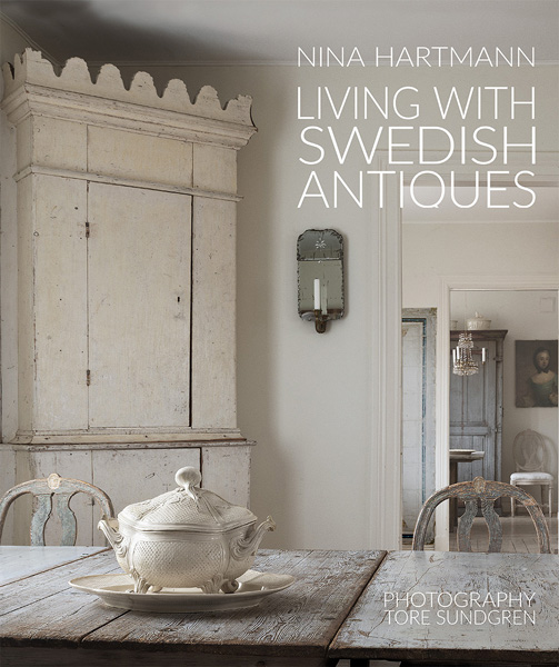 Vintage by Nina Nina Hartmann NEW Book Release Living With Swedish Antiques