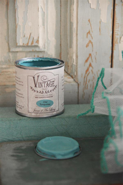 JDL Vintage Paint Old Turquoise
