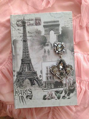 Jeweled Paris Book Box $24-$32