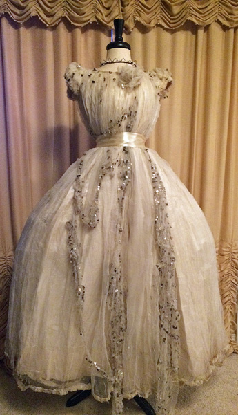 Gorgeous Parisian Silk Ball Gown